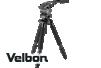 Velbon大型プロフェッショナルカーボン4段三脚Professional Geo V840BW+ビデオ雲台FHD81セット