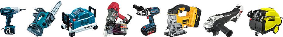 買い取った電動工具の画像一覧