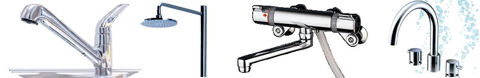 買い取った水栓金具の画像一覧